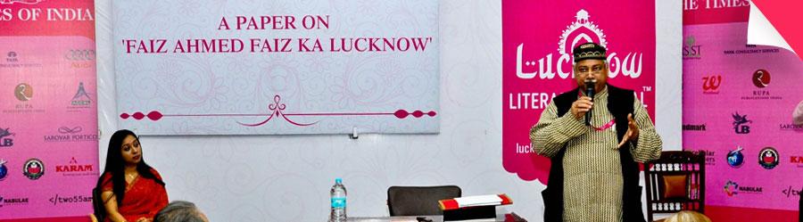 A Paper on 'Faiz Ahmad Faiz Ka Lucknow