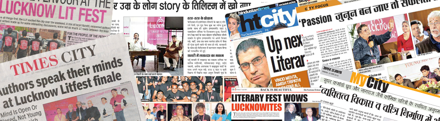 Lucknow Literary Festival 2013 : NEWS
