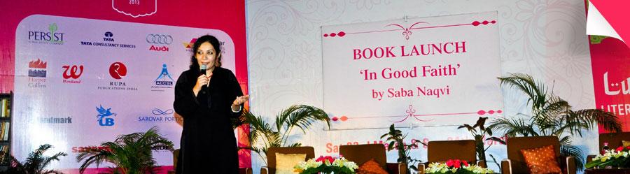 Book Launch 'In Good Faith' By Saba Naqvi