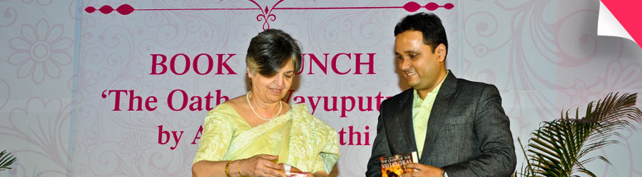 Book Launch : 'The Oath of Vayuputras' by Amish Tripathi