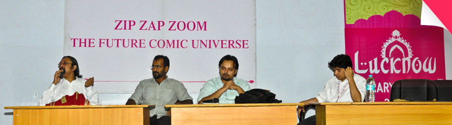 Zip Zap Zoom : The Future Comic Universe